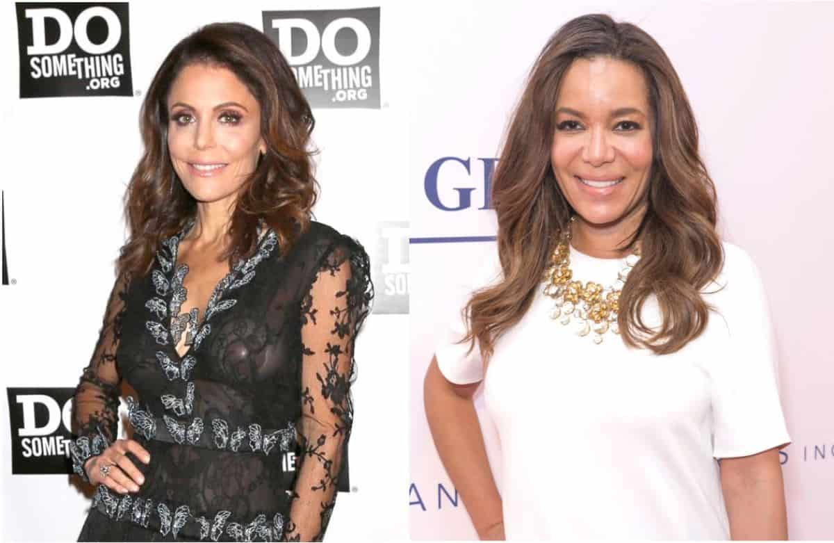 Bethenny Frankel and Sunny Hostin Twitter Feud