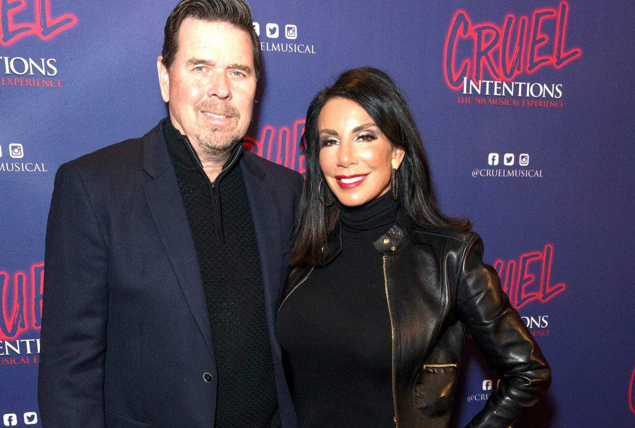 'RHONJ' Star Danielle Staub Granted Restraining Order Against Husband Marty Caffrey