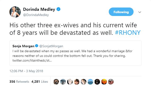 Dorinda tweet Sonja