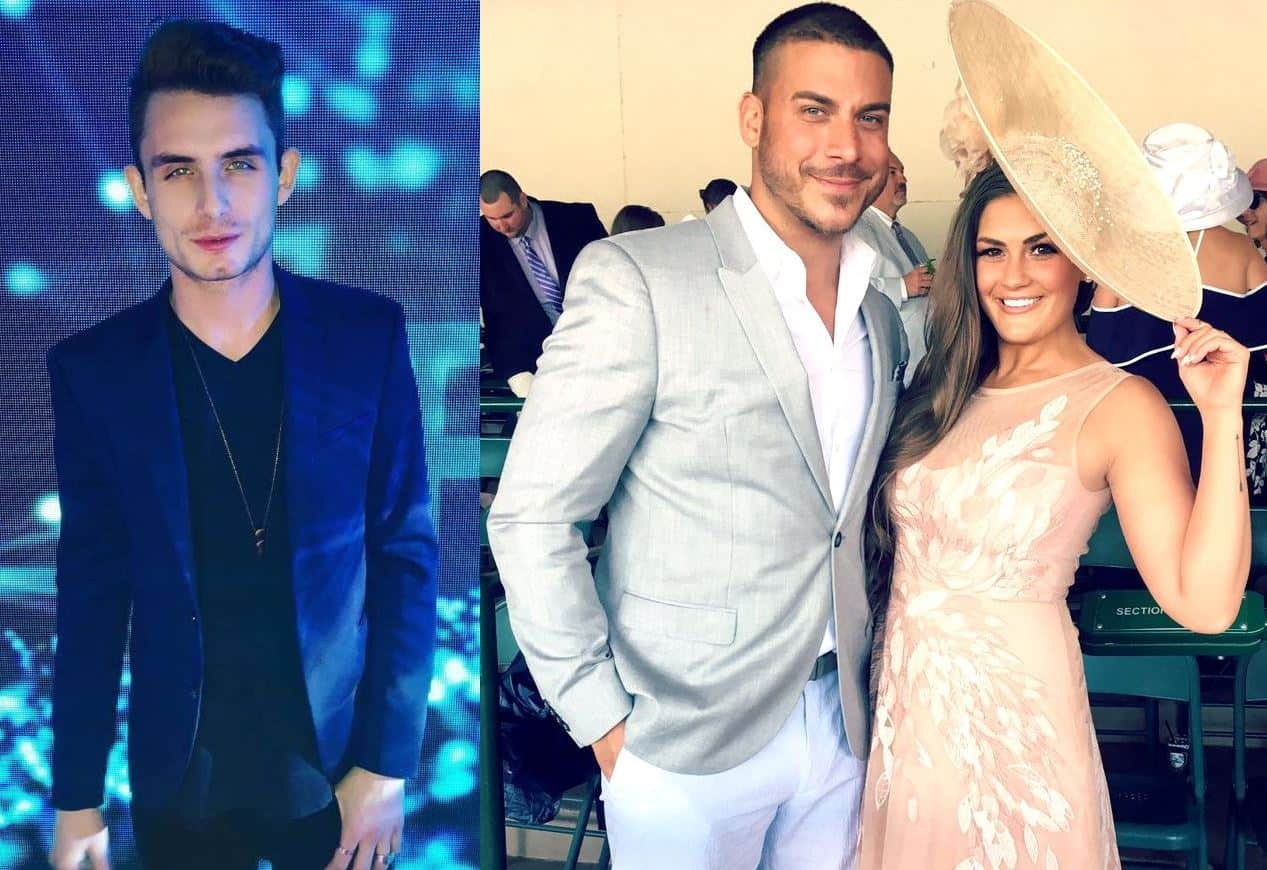 Pump Rules James Kennedy Jax Taylor and Brittany Cartwright