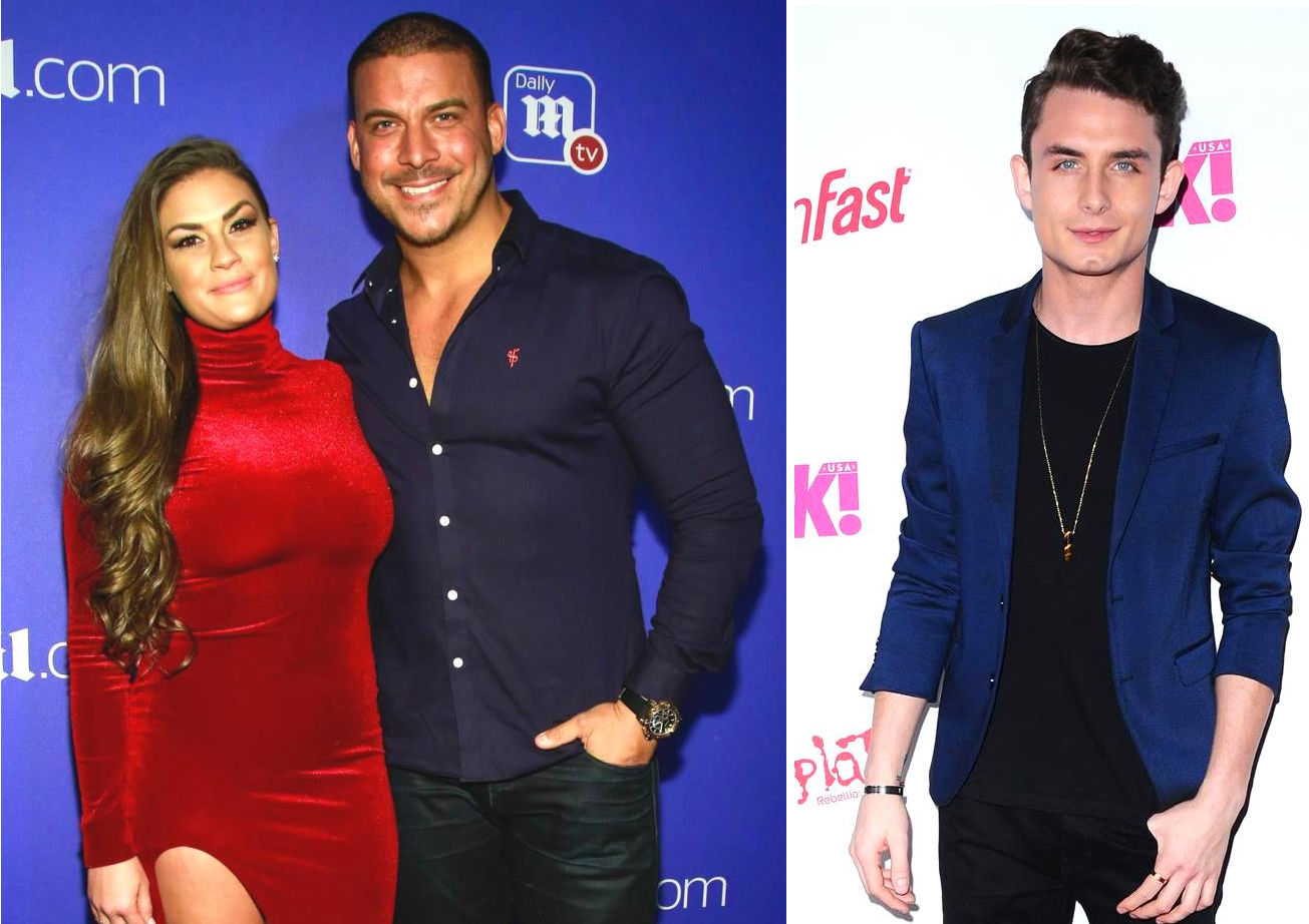 Vanderpump Rules Jax Taylor Threatens James Kennedy Over Brittany