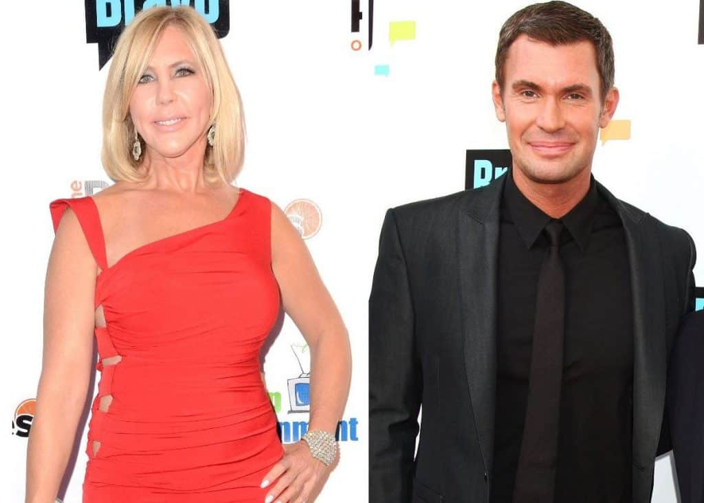 Jeff Lewis and Vicki Gunvalson Feud