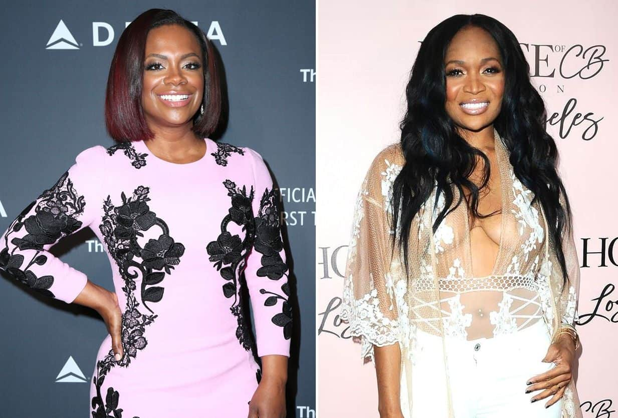 RHOA Kandi Burruss and Marlo Hampton