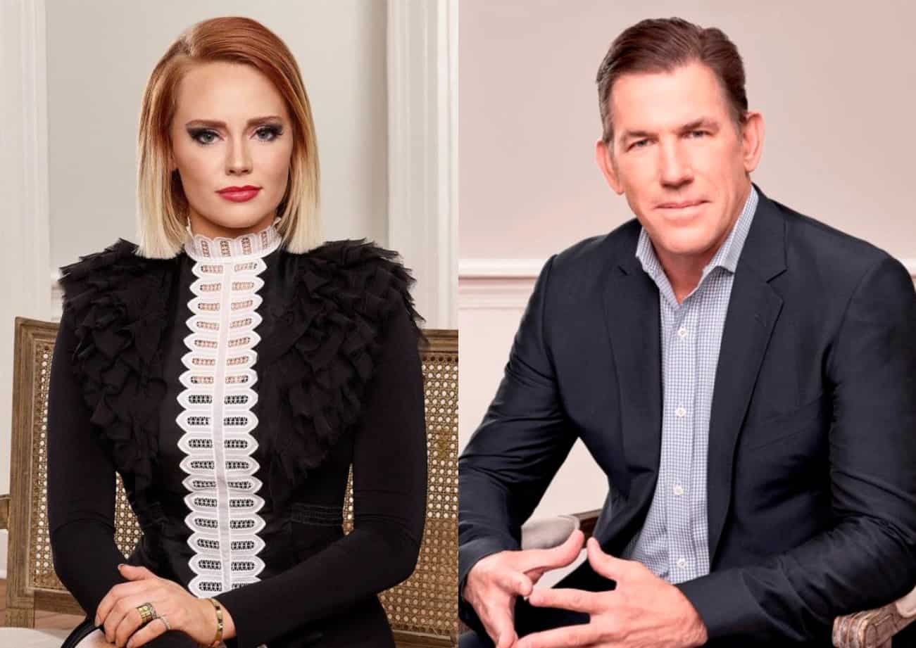 Southern Charm's Kathryn Dennis Questions Thomas Ravenel About Drug Use, Mental Health