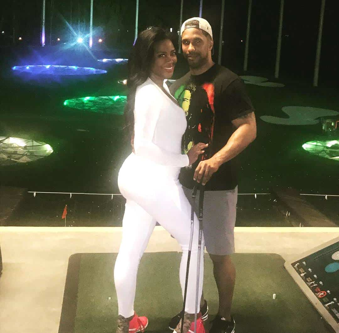 Kenya Moore Pregnant Baby Bump With Marc Daly