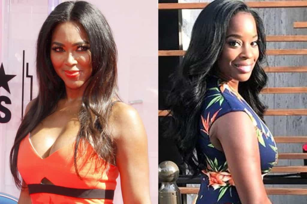 RHOA Kenya Moore and Shamea Morton Pregnant