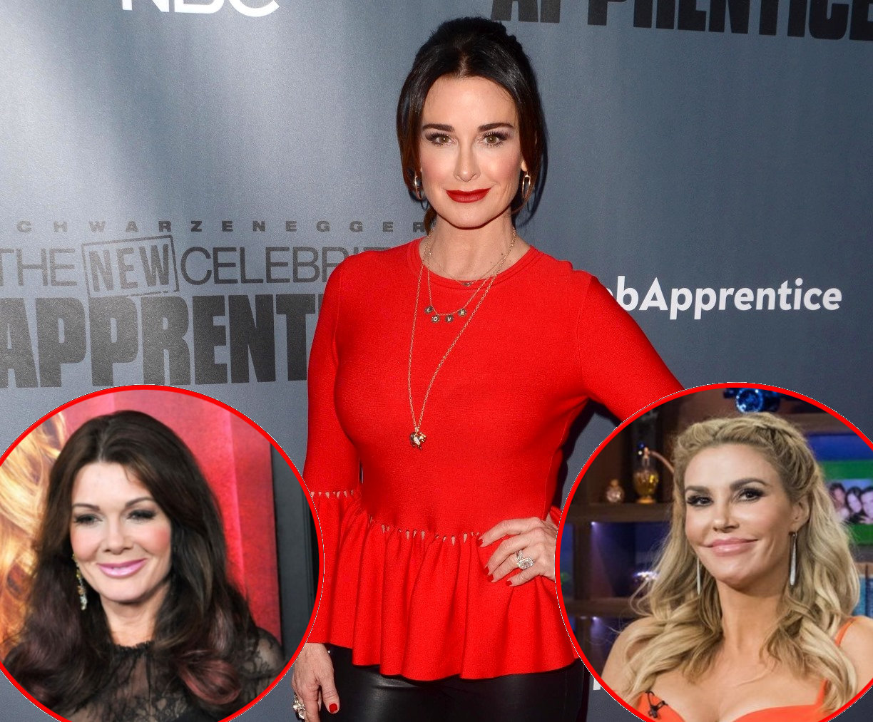 RHOBH Kyle Richards Lisa Vanderpump and Brandi Glanville