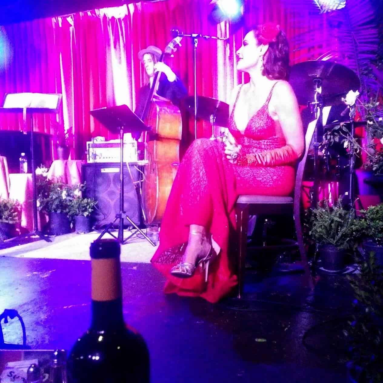 Luann de Lesseps Cabaret Show Photos