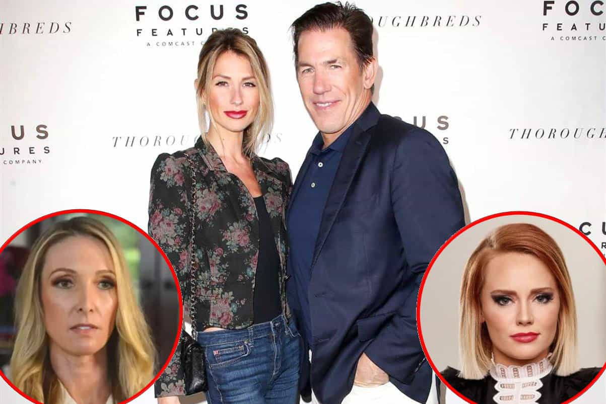 Southern Charm Luzanne Otte and Kathryn Dennis vs Thomas Ravenel and Ashley Jacobs