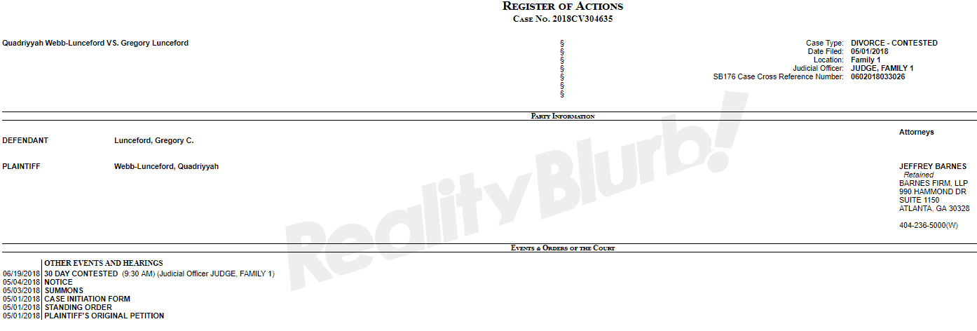 Quad and Greg Divorce Document