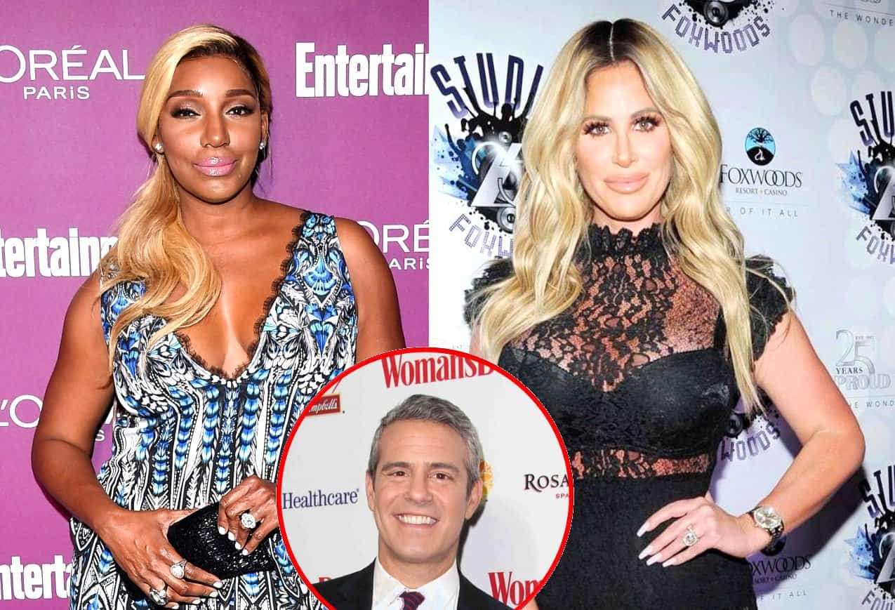 RHOA Nene Leakes and Kim Zolciak Andy Cohen
