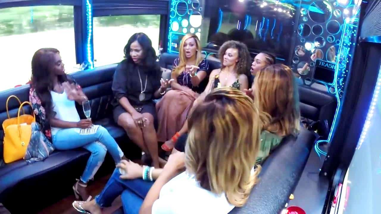 RHOP Recap Candiace and Charrisse Fight