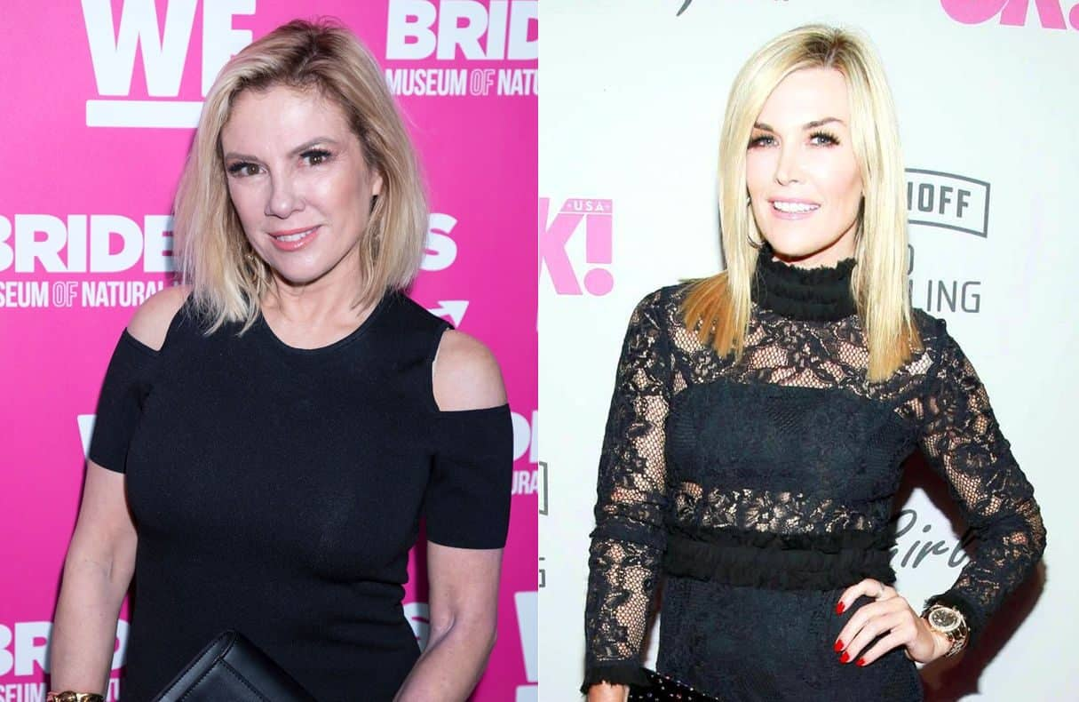 RHONY Ramona Singer and Tinsley Mortimer News