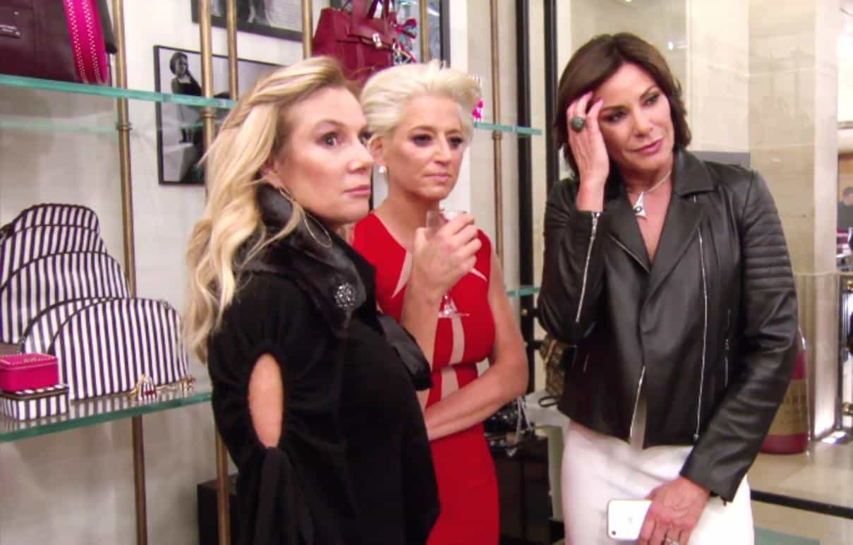 The Real Housewives of New York City Recap Tea for Tat