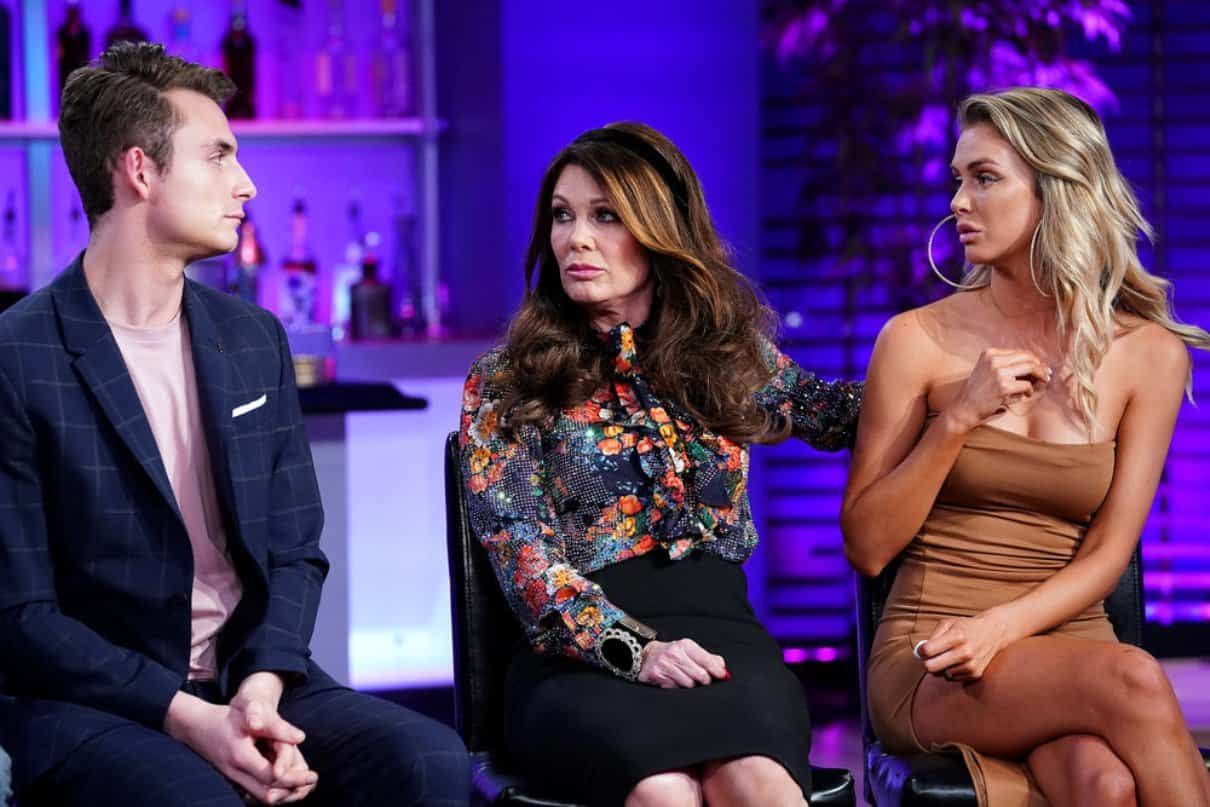 Vanderpump Rules reunion part 2 James Kennedy Lisa Vanderpump and Lala Kent