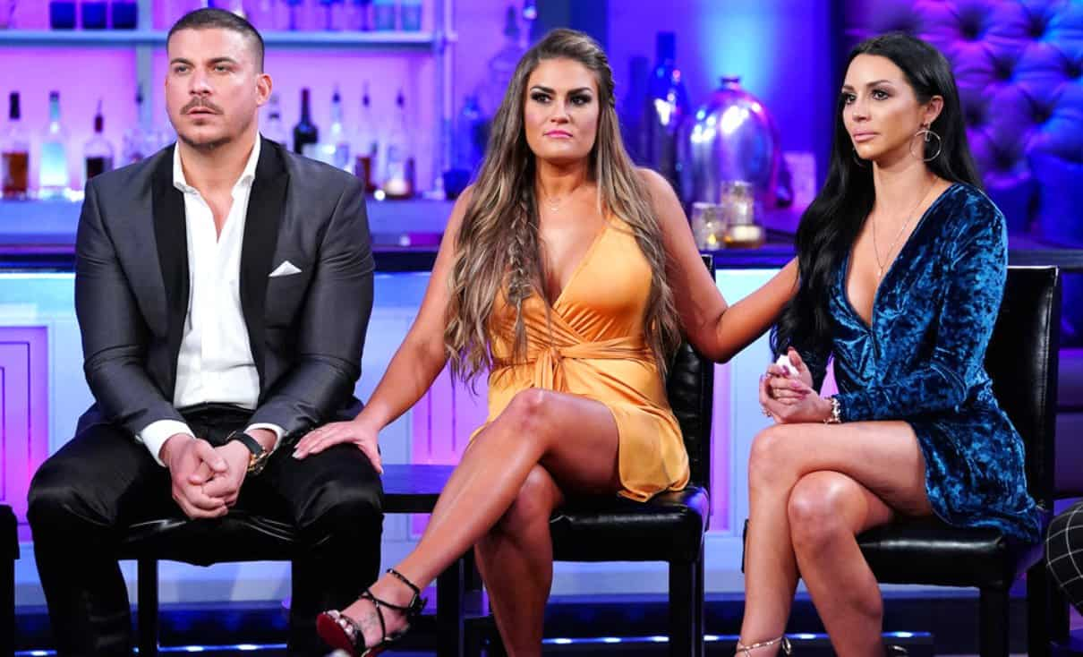 Vanderpump Rules season 6 reunion Jax Brittany and Scheana