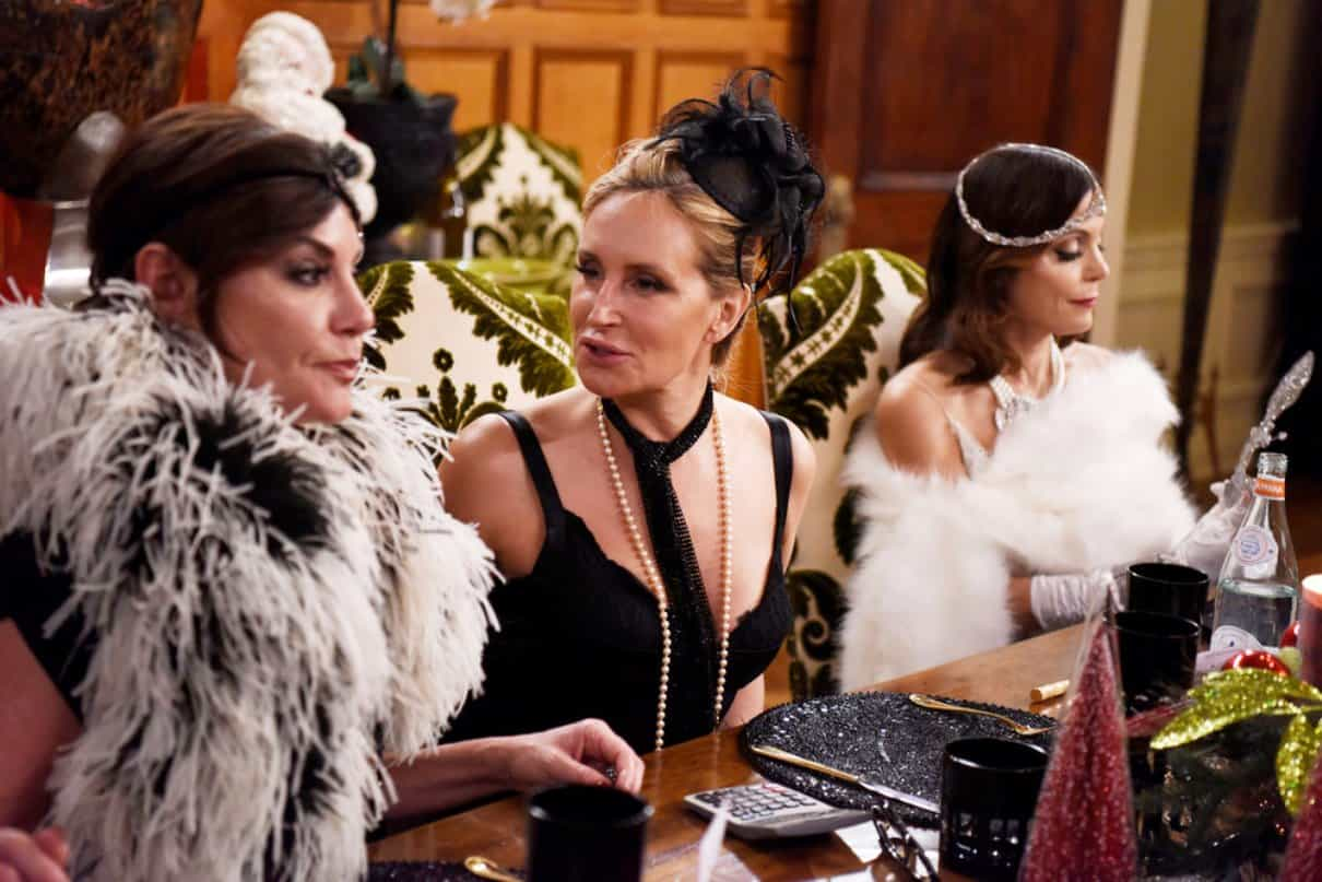 real housewives of new york city recap Holidazed and Confused