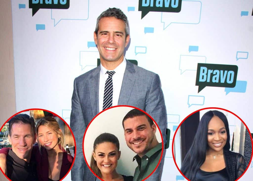 Andy Cohen Interview On Thomas and Ashley Jax and Brittany Marlo