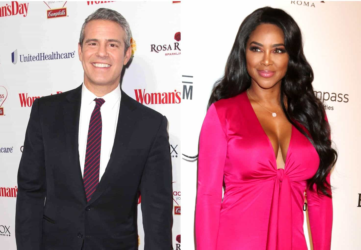 RHOA Andy Cohen and Kenya Moore