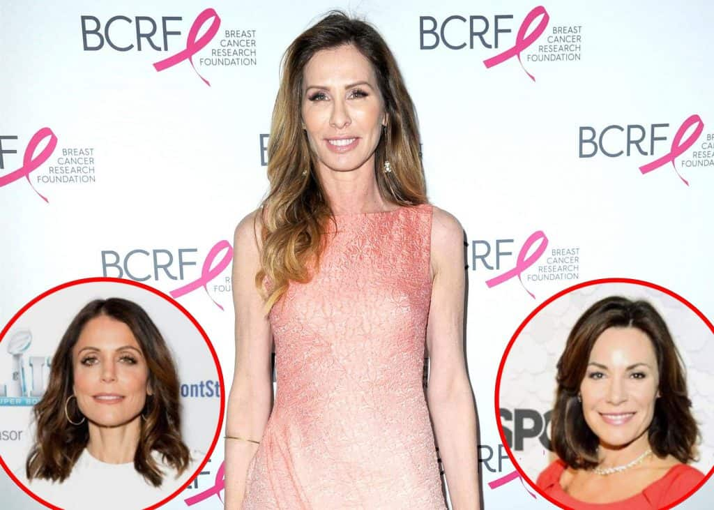 Carole Radziwill confronted with targeted Facebook ads involving Bethenny