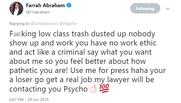 Farrah vs Drita