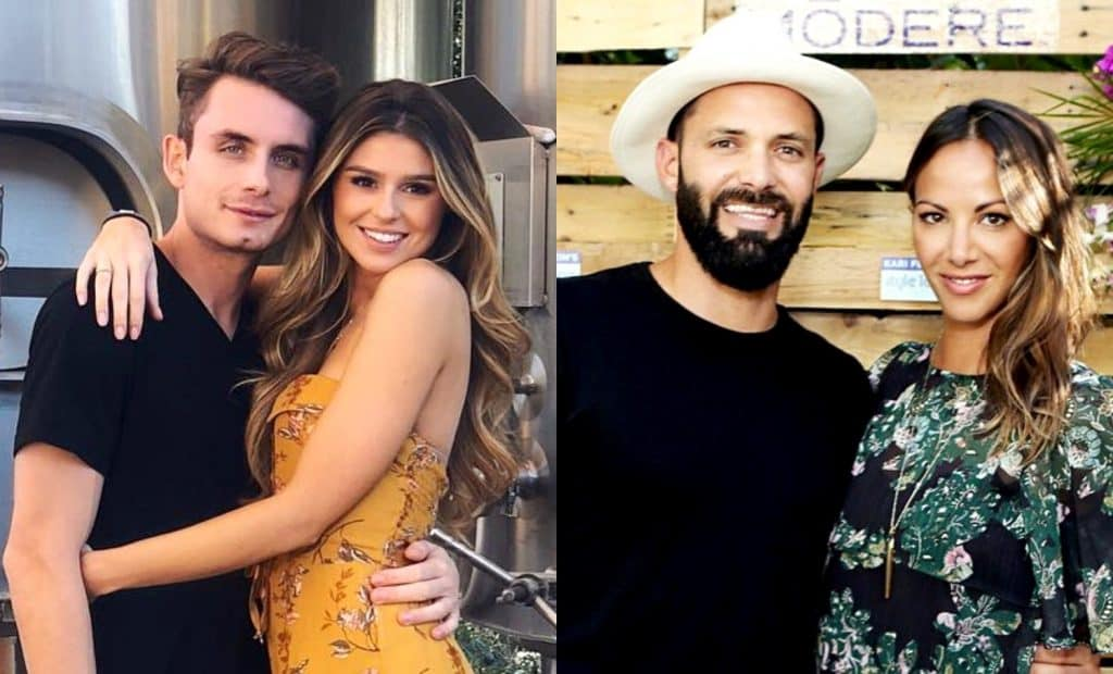Vanderpump Rules James Kennedy and Raquel Leviss vs Kristen Doute and Brian Carter