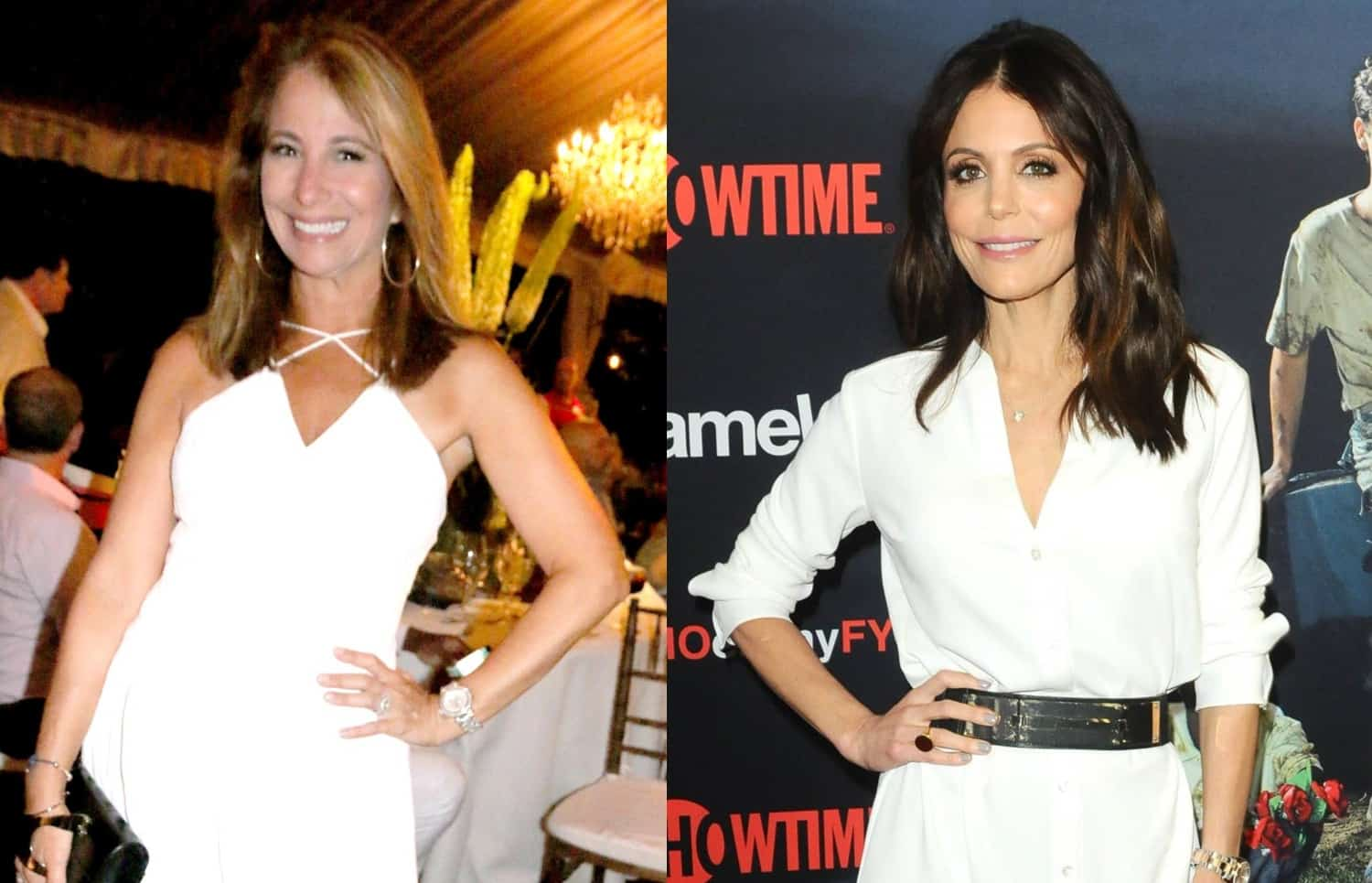 RHONY Jill Zarin and Bethenny Frankel