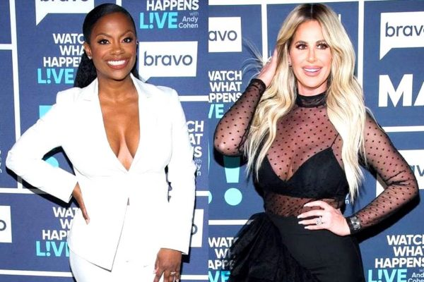 Kandi Burruss and Kim Zolciak