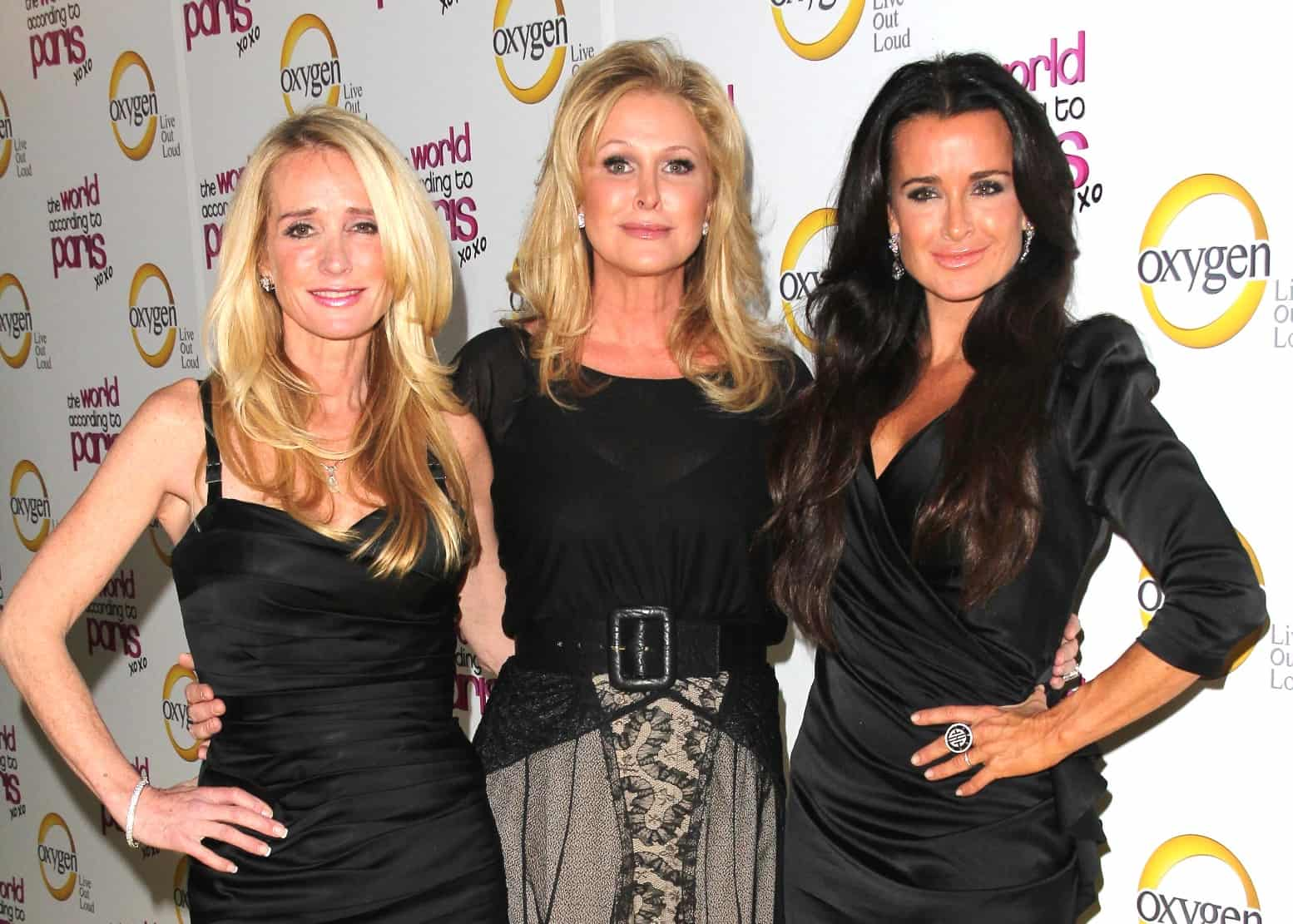 RHOBH Kim Richards, Kathy Hilton and Kyle Richards