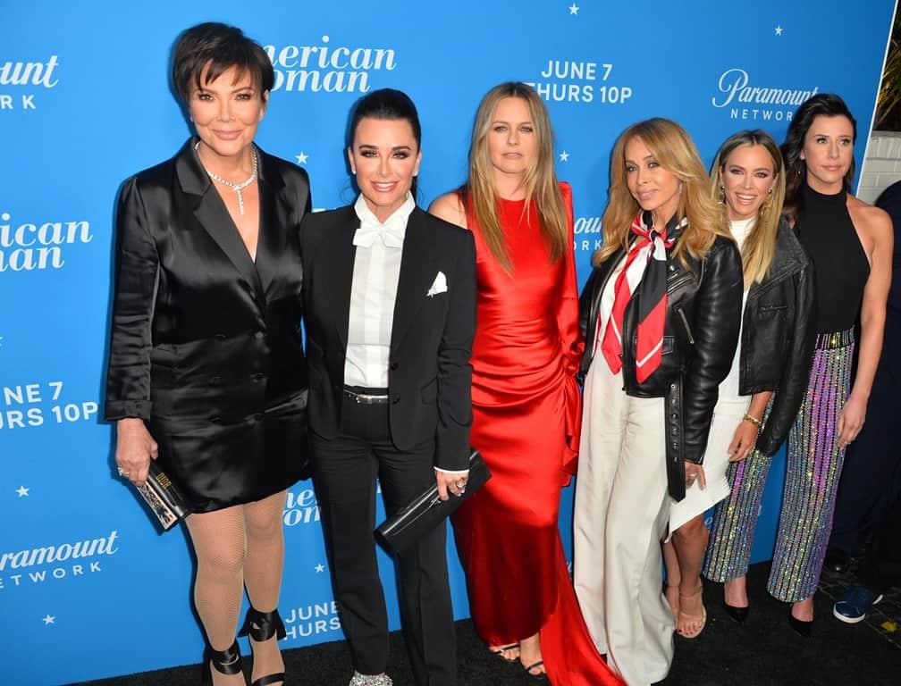 Kris Jenner, Kyle Richard, Alicia Silverstone, Faye Resnick, Teddi Mellencamp & Jennifer Bartels