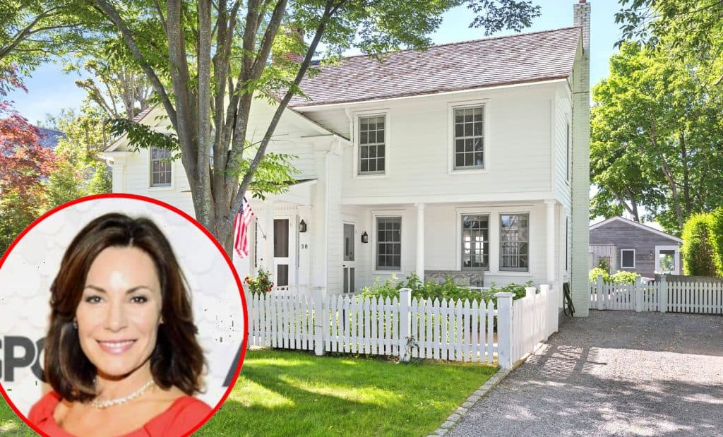 RHONY Luann de Lesseps Hamptons Sag Harbor Home for Sale