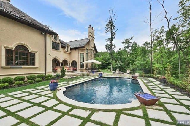 RHONJ Melissa Gorga House Backyard