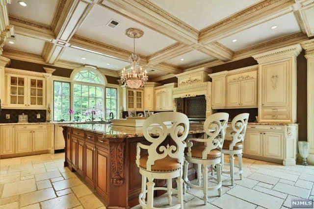 RHONJ Melissa Gorga House Kitchen