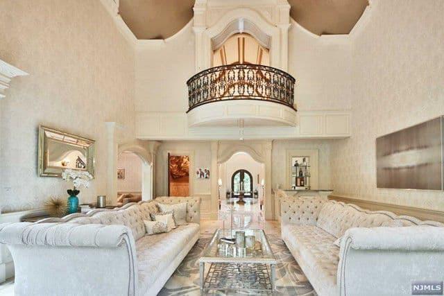 RHONJ Melissa Gorga House Living Room