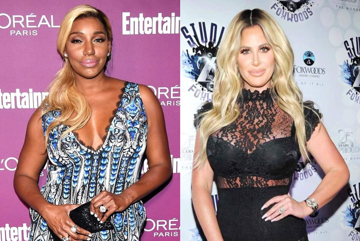 RHOA Nene Leakes and Kim Zolciak