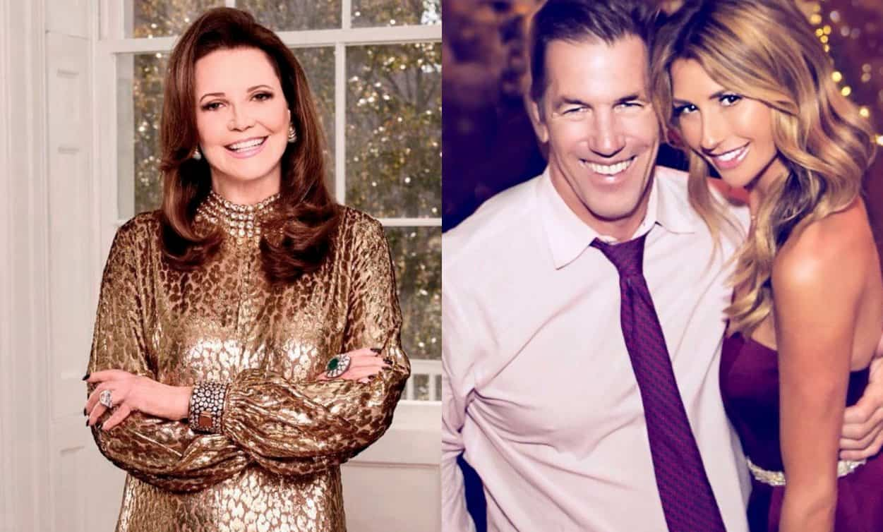 Southern Charm Patricia Altschul and Talks Thomas Ravenel Ashley Jacobs