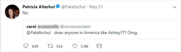 Patricia Tweet Ashley