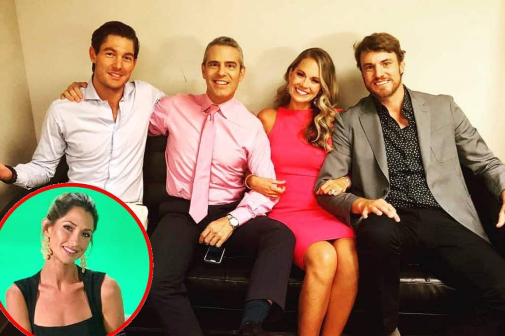 Southern Charm Reunion Details - Craig Conover, Andy Cohen, Cameran Eubanks, Shep Rose and Ashley Jacobs