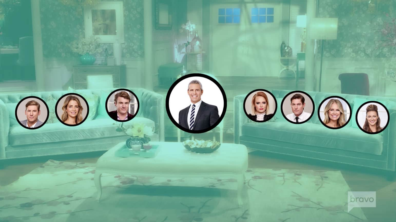 Southern Charm Reunion Seating Chart
