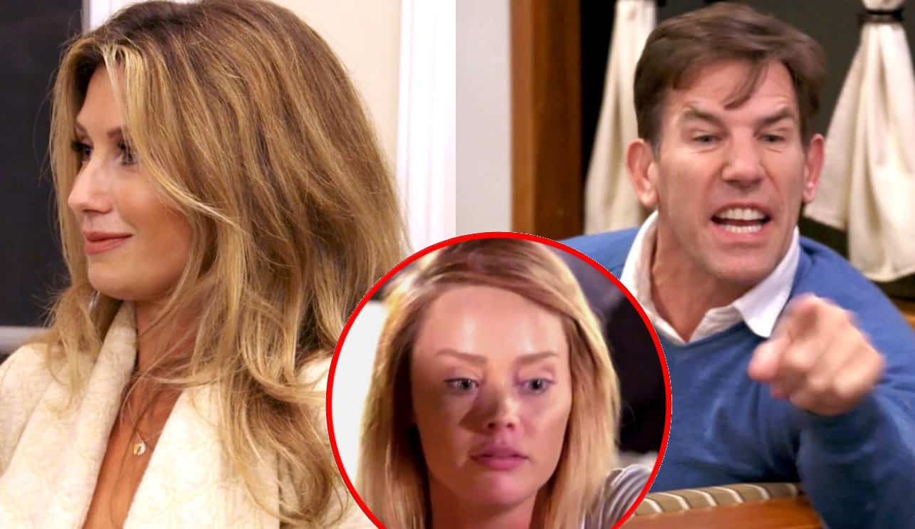 Southern Charm recap Hilton Head-ache Ashley, Kathryn and Thomas