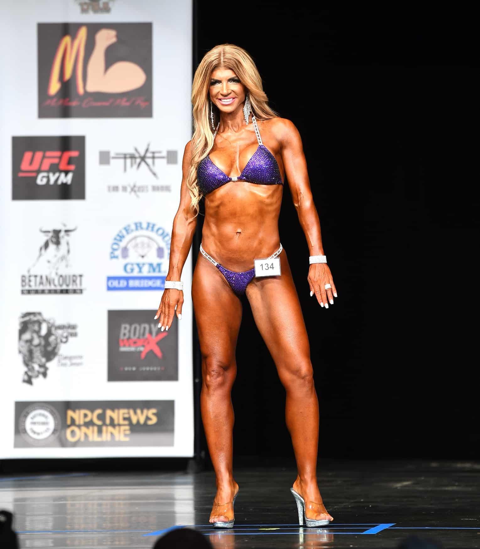 Teresa Giudice Bikini Bodybuilder Competition
