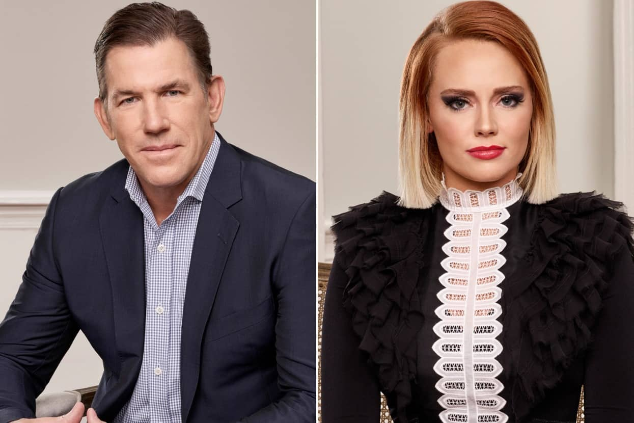 Southern Charm Thomas Ravenel and Kathryn Dennis