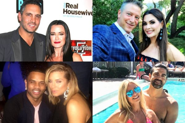 Top 10 Hottest Real Housewives Husbands, Kyle Richards and Mauricio Umansky, D'Andra Simmons and Jeremy Lock, Robyn Dixon and Juan Dixon, Tamra Judge and Eddie Judge