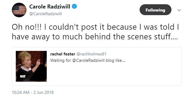 carole Tweet
