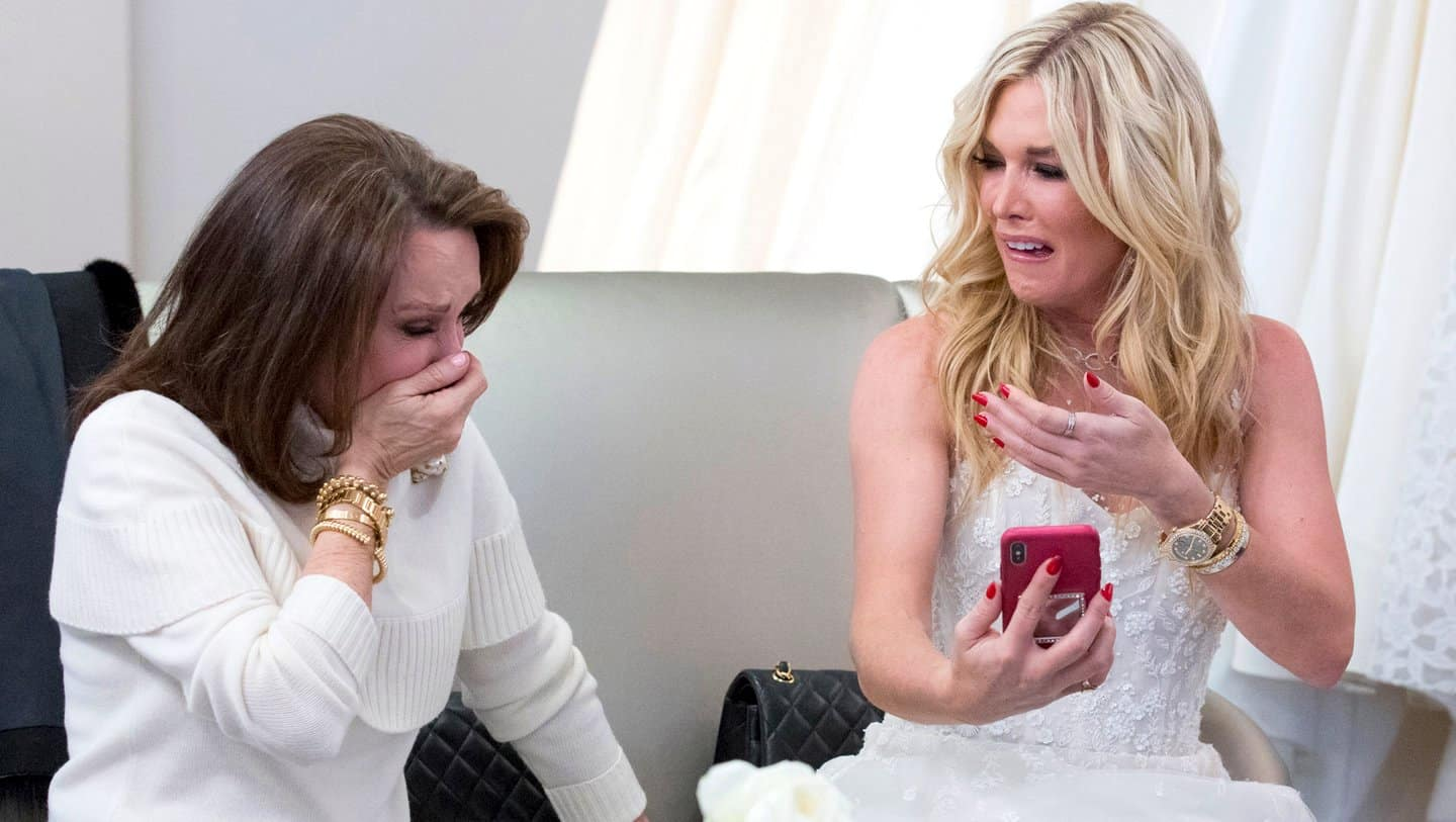 Real Housewives of New York Recap Faux Weddings and a Funeral Tinsley Mortimer and Mom