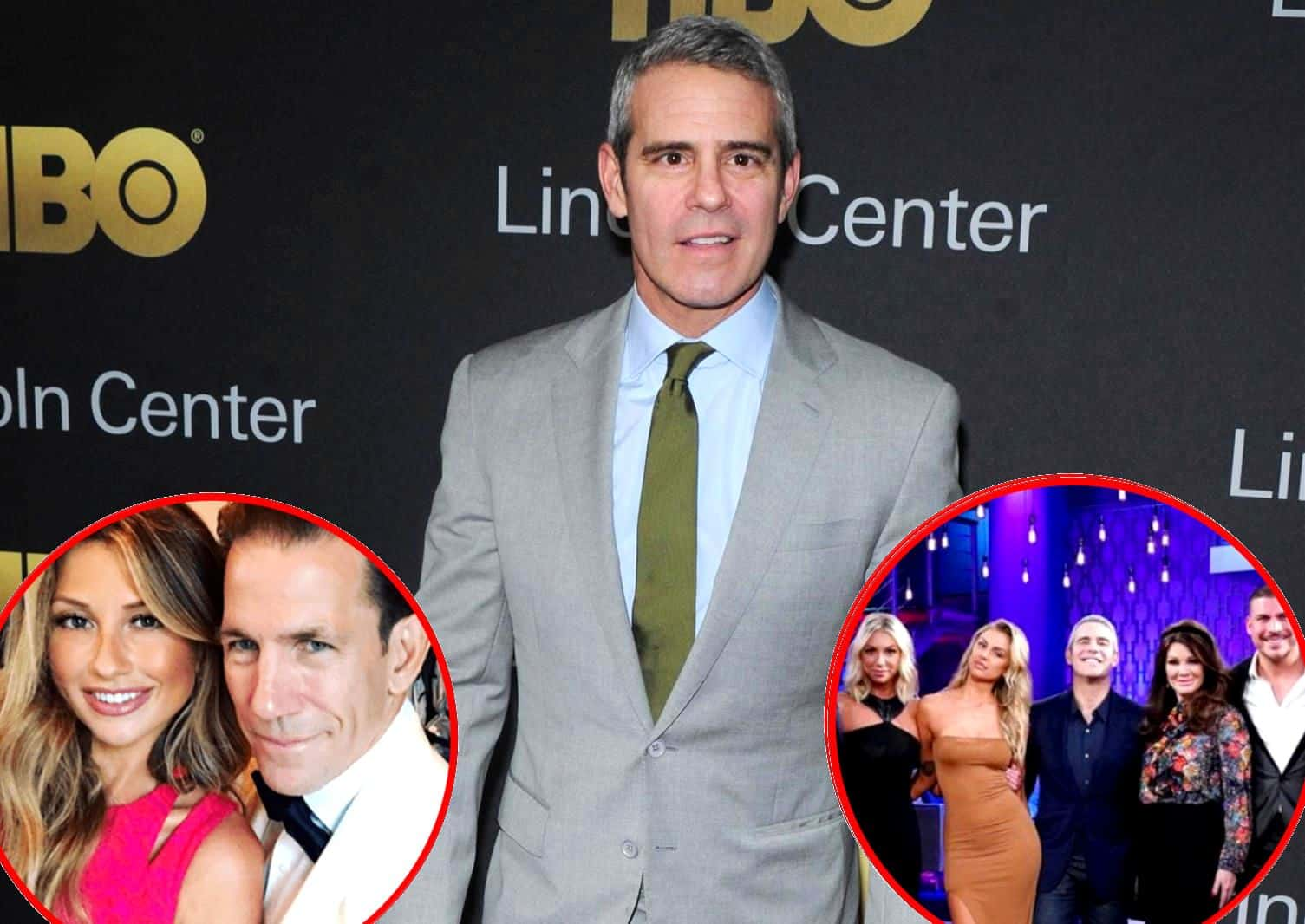 Andy Cohen Thomas Ravenel and Ashley Jacobs Vanderpump Rules