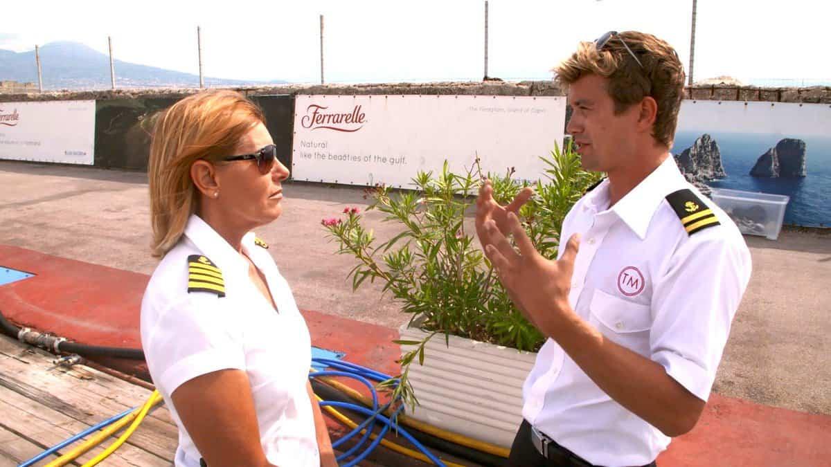 Below Deck Mediterranean Recap Conrad Confronts Captain Sandy