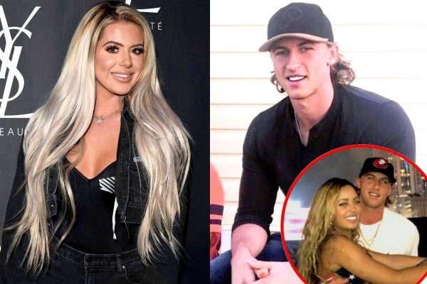 Brielle Biermann Michael Kopech and Vanessa Morgan photos