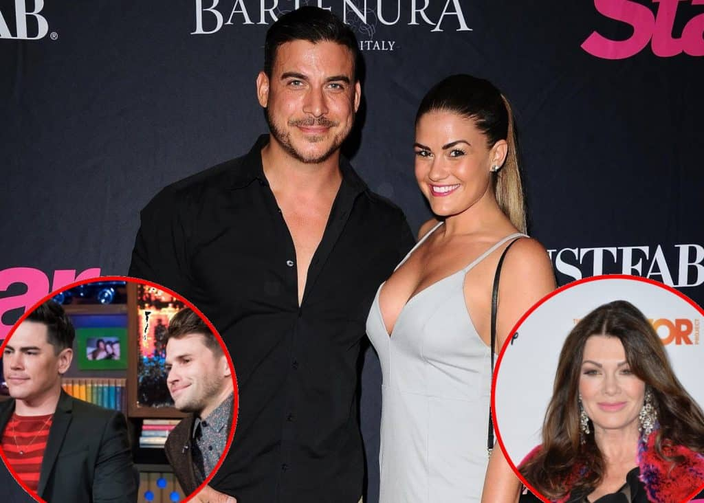Vanderpump Rules Brittany Cartwright and Jax Taylor TomTom Lisa Vanderpump