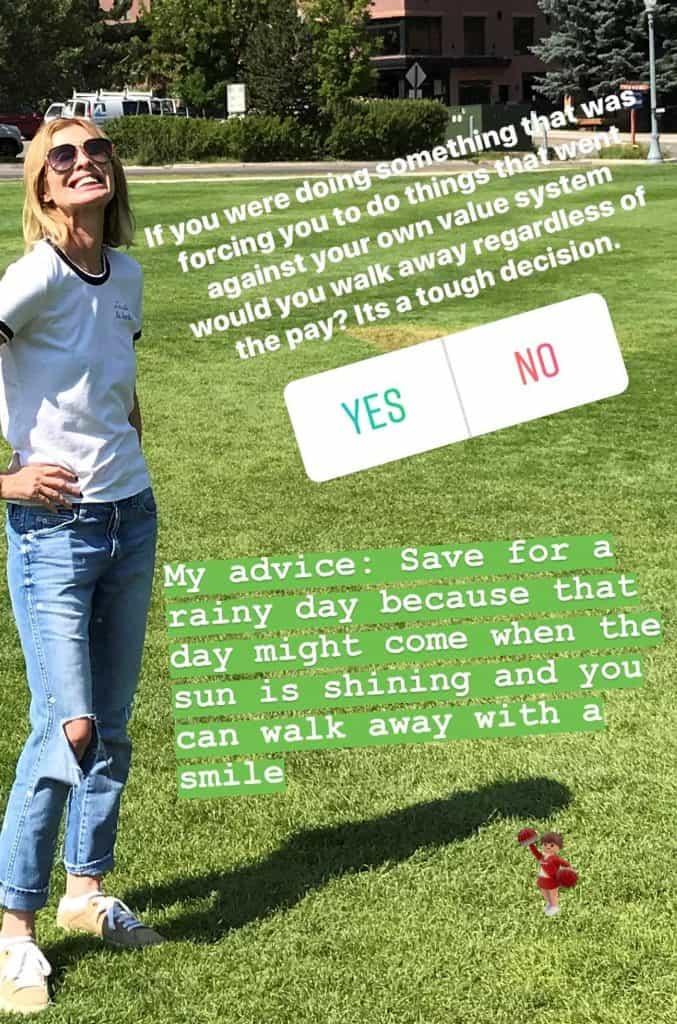 Carole Instagram RHONY post